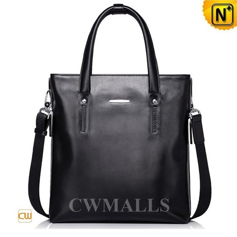 CWMALLS® Leather Business Tote Bag Men CW906052   Mens Business Bags   Scoop.it