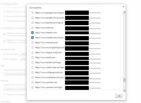 Contraseñas guardadas en el navegador: cómo mejorar su seguridad | Seguridad | Scoop.it