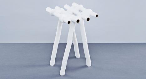 Le studio Ilio recycle la poudre d'impression pour fabriquer du mobilier - 3Dnatives | Vous avez dit Innovation ? | Scoop.it