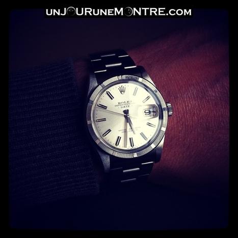 Lundi: Rolex Oyster Perpetual Date réf.1501 | unJOURuneMONTRE ... | Montres mécaniques | Scoop.it