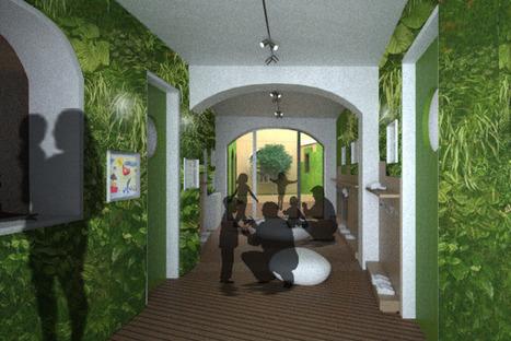 Bambù e pareti vegetali: a Milano l'asilo nido ecologico firmato ... | Edilizia ecosostenibile | Scoop.it