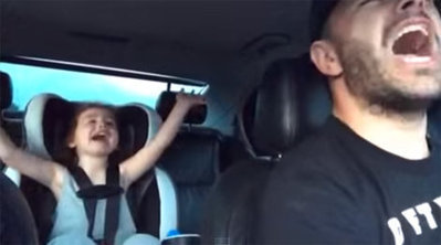 Adorable! North Texas dad, daughter duet goes viral   QwikWash America! In Our Community   Scoop.it