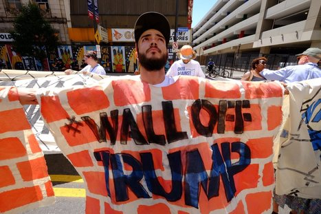 Mijente Built a Human Wall Around Trump's Hate and Blocked an Entrance to the RNC   itsyourbiz   Scoop.it
