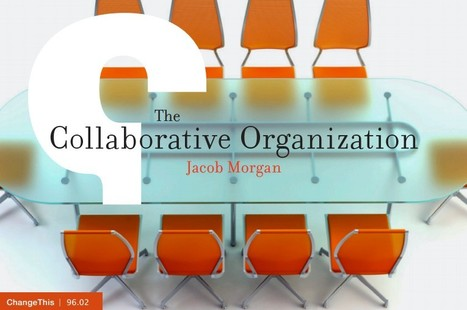 The Collaborative Organization Manifesto | Lateral Thinking Knowledge | Scoop.it