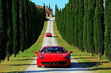 Ferrari Tours of Italy – The Ultimate in Luxury Road Trips | Hamptons Real Estate | Scoop.it