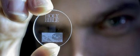 This tiny glass disc can store 360TB of data for 13.8 billion years | Information documentaire | Scoop.it