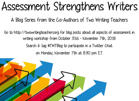 Record Keeping- Why and How: Assessment Strengthens Writers | Life as a Teacher | Scoop.it