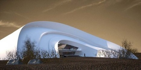 Curvy Desert Home Mimics the Snail... | sustainable architecture | Scoop.it