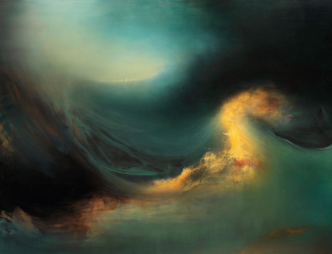 Internal Landscapes: Sweeping Abstract Oceans by Samantha ...   Geography   Scoop.it