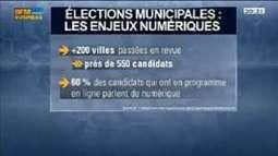 Quels sont les enjeux numériques des élections municipales?: Camille Vaziaga, Marc Mossé et Matthieu Lerondeau, dans 01Business - 22/03 3/4 | Mon Territoire Numérique | Scoop.it