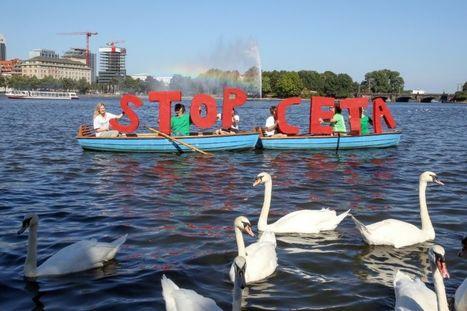 Les Allemands dans la rue contre le libre-échange transatlantique | Des 4 coins du monde | Scoop.it