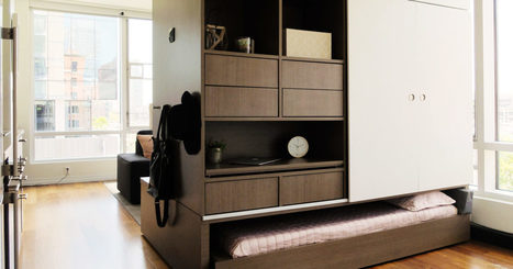 Robo-Furniture From MIT Makes The Most of Tiny Apartments | Home Automation | Scoop.it