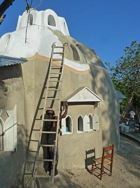 Konbit Shelter Project, Sustainable Superadobe Buildings for Rural ... | Yan's Earth | Scoop.it