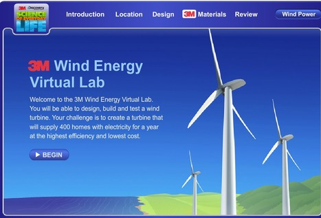 Science of Everyday Life: Wind Energy Virtual Lab | Tech Learning | Student Engagement and Learning | Scoop.it