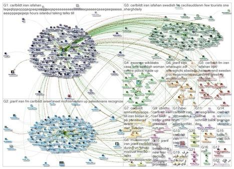 Social Network Analysis of Carl Bildt's Visit to Iran - YeniDiplomasi | social media | Scoop.it