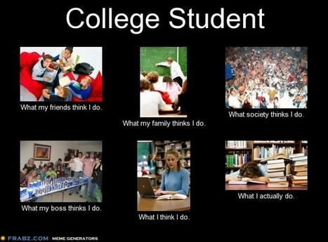 College Student | What I really do | Scoop.it
