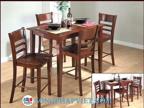 Bộ bàn ghế Bar SPV539 | Bộ bàn ghế Bar | Bộ bàn ghế xuất khẩu | Đồ Gỗ Song Pháp Việt | Hello coopit | Scoop.it