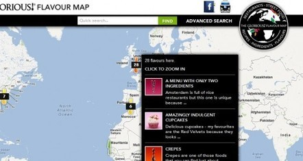 Flavour Map: A crowdsourced interactive map of tastes from around the world | Time to Learn | Scoop.it