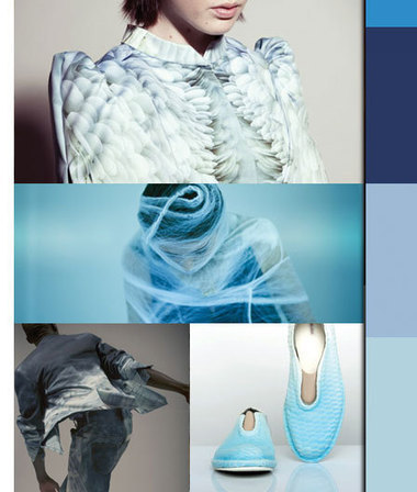 FADING INTO BLUE | Avant-garde Art & Design | Scoop.it