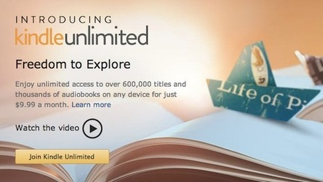 Amazon testing Netflix-style subscription service for e-books | Writing | Scoop.it