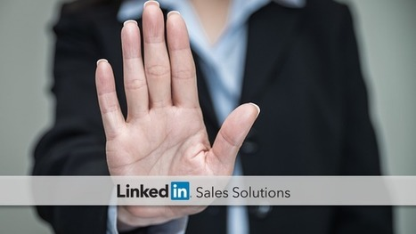 Stop Social Selling This Way | Social Selling:  with a focus on building business relationships online | Scoop.it