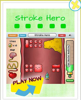 Stroke Hero: Gamification Raises Stroke Knowledge in Young Children | Geek Therapy | Scoop.it