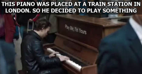 Professional Musician Plays on a Public Piano | ideas | Scoop.it