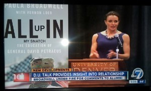 """ABC Denver calls name of Petraeus biography: """"All up in my snatch"""" 