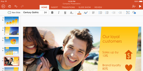 Microsoft gives away Office apps for iPhone, iPad | Curtin iPad User Group | Scoop.it