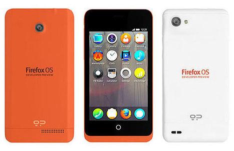 Mozilla dévoile son smartphone Firefox OS... pour les développeurs | Actualité high-tech et techno | Scoop.it