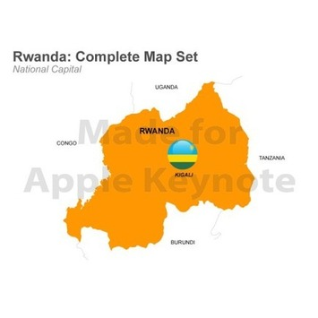 Map of Rwanda for Apple Keynote Presentation | MAPS  Ideas, Examples, Resources | Scoop.it