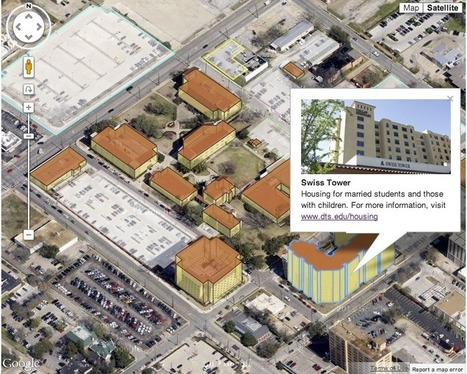 Google Geo Developers Blog: Map of the Week: DTS Campus Map | #GoogleMaps | Scoop.it