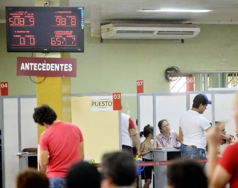Por día, unos 3.000 usuarios gestionan sus documentos en Identificaciones - ABC Color - Paraguay | Biometría | Scoop.it