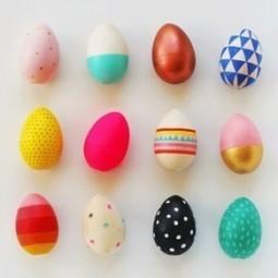 Деревянные пасхальные яйца для детей | ars | Scoop.it