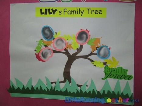 A Family Tree in Fall | Jardim de Infância | Scoop.it