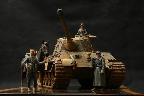 1/16 Tamiya Kingtiger new look! | Military Miniatures H.Q. | Scoop.it