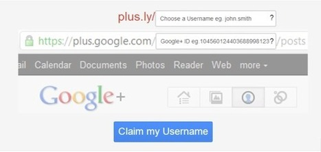 Plus.ly tu dirección personalizada en Google Plus | Plustar | Scoop.it