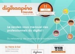 [Evénement] 11 juin : Digikaapero avec Web in Alps | Grenoble numérique | Scoop.it