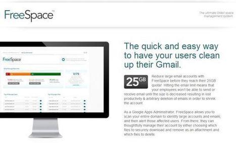 Backupify lanza FreeSpace para optimizar los espacios de almacenamiento de GMail en Google Apps   Recull diari   Scoop.it