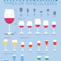 Types of Wine Glasses | Visual.ly | Wine General | Scoop.it