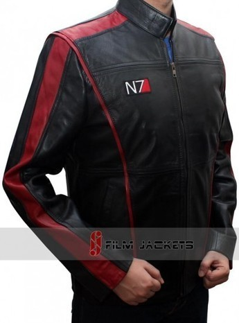 N7 Jacket 3 for Gaming Lovers | Black Leather Mass Effect Jacket | House of outfits | Scoop.it