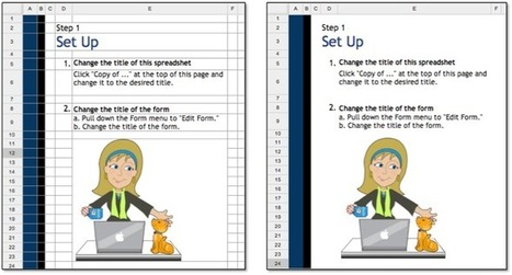 5 Awesome Google Spreadsheet Formatting Tricks | Flipping the Classroom | Scoop.it