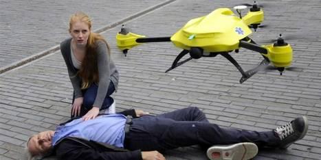 Drones : la santé veut sauter le pas | Buzz e-sante | Scoop.it