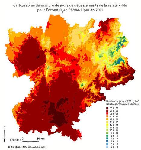 Pollution à l'ozone : on est plus exposé à la campagne qu'au bord de l'autoroute | Toxique, soyons vigilant ! | Scoop.it