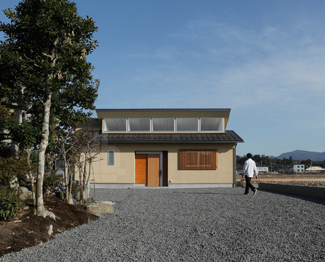 rural japanese ritto house by ALTS design office - Designboom | Graphic Design | Scoop.it