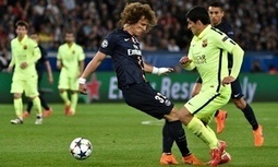 Luis Suárez leaves Edinson Cavani in shade in Champions League show - The Guardian | AC Affairs | Scoop.it