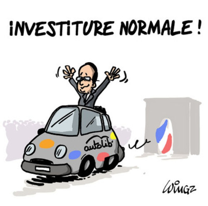 Investiture normale | Baie d'humour | Scoop.it
