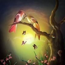How to Paint a Lovely Pair of Birds in Photoshop | Informatyka-Grafika-Technologie graficzne | Scoop.it