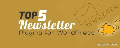 Top 5 Newsletter Plugins for WordPress | Wordpress | Scoop.it