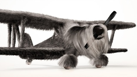 """Dogfighters"" Morph WWII Planes with Furry Animals 
